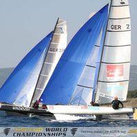 WORLDS Tornado Grande Motte - Kwindoo, sailing, regatta, track, live, tracking, sail, races, broadcasting