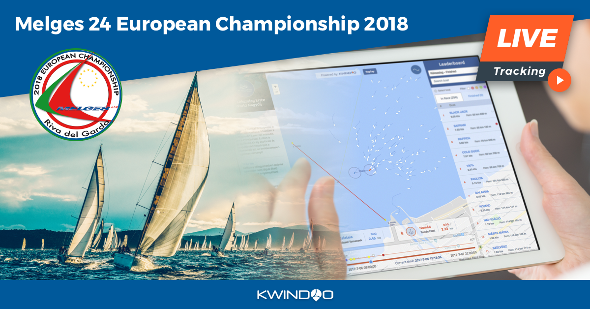 Tracking view of Melges 24 European Championship 2018
